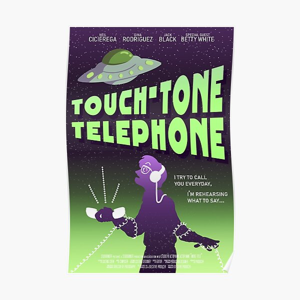 Touch-Tone Telephone Poster Poster