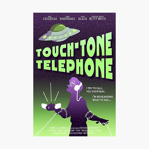 Touch-Tone Telephone Poster Photographic Print