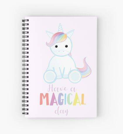 Unicorn - Have a MAGICAL Birthday Spiral Notebook