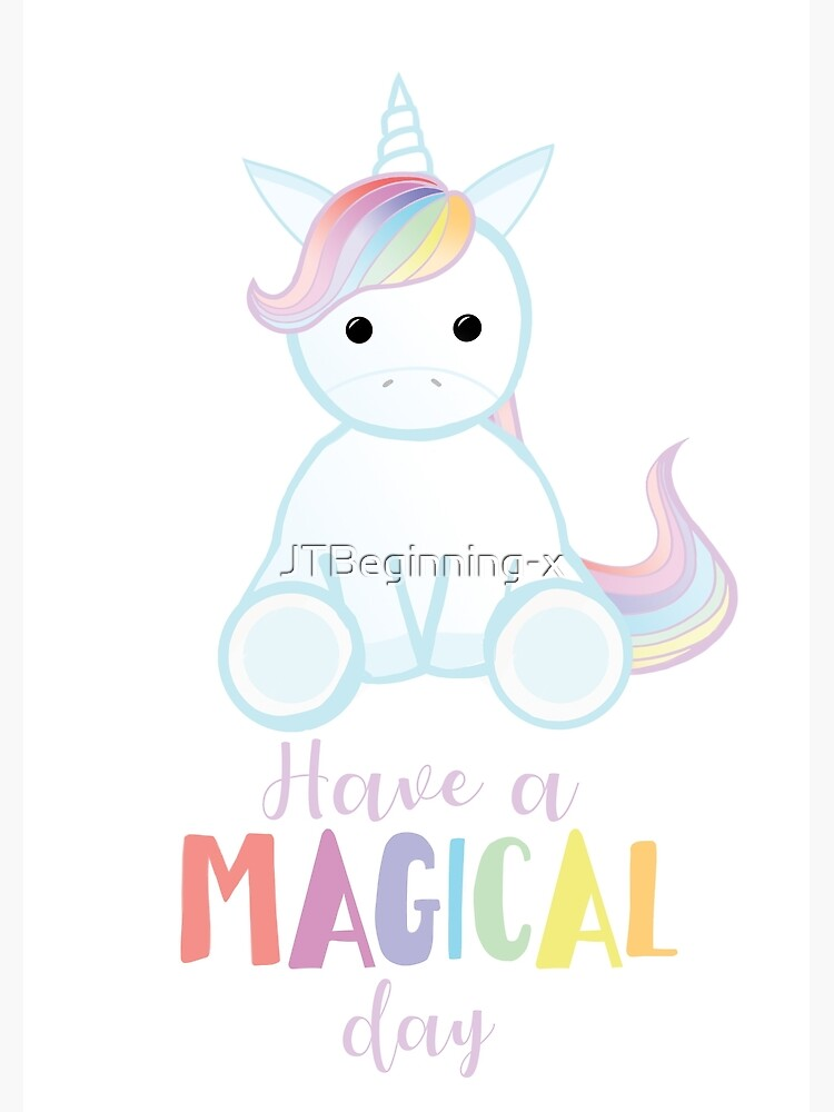 Unicorn - Have a MAGICAL Birthday by JTBeginning-x