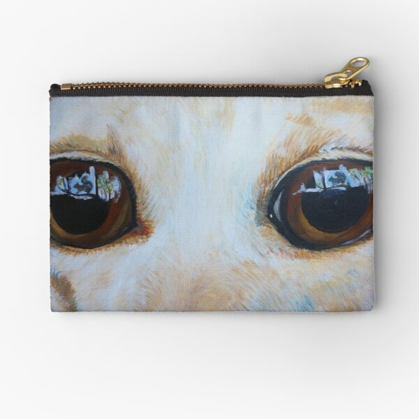 Eyes on the Squirrel Zipper Pouch
