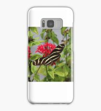 ZEBRA LONGWING BUTTERFLY Samsung Galaxy Case/Skin