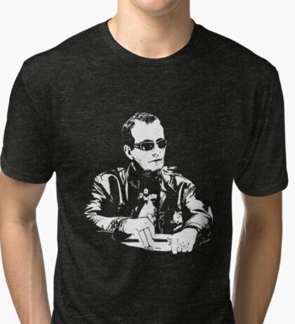 Devilfish - David Ulliot Tri-blend T-Shirt