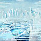 Eis - Digitales Malen von unikatdesign