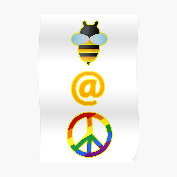 Bee at Peace Poster