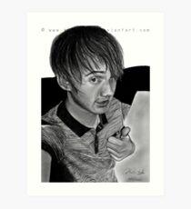 Darren. Art Print