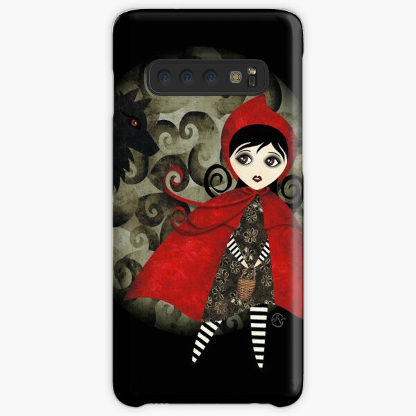 Little Red Capuccine Samsung Galaxy Snap Case
