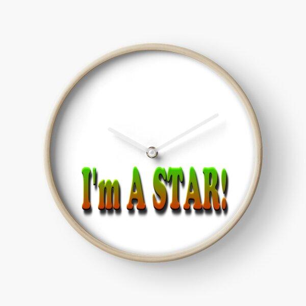 I Am A STAR! Clock