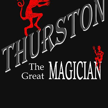 Thurston the magician by chumi