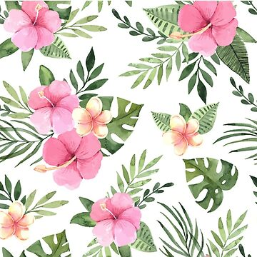PINK FLORAL PATTERN by MallsD