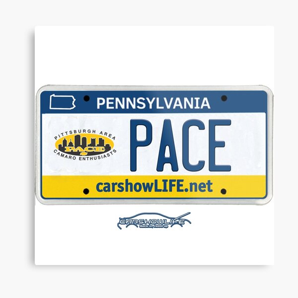 Pittsburgh Area Camaro Enthusiasts #CARSHOWLIFE Metal Print