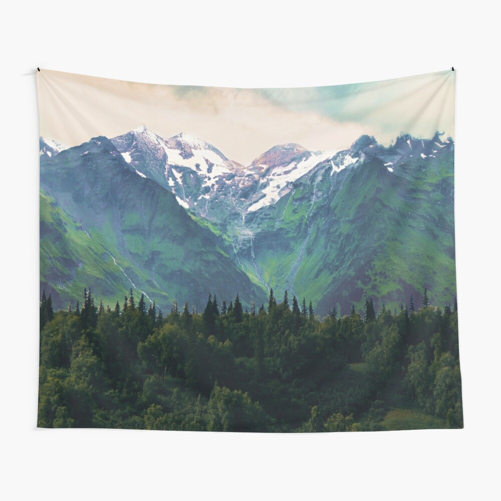 Escaping from woodland heights I Wall Tapestry