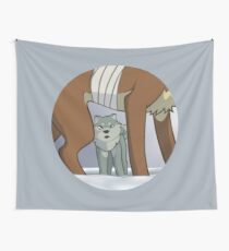 Bearhound Blood Wall Tapestry