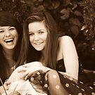 Best Friends: Breana and Kristen by Courtney Tomey