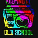 «Old School Boombox Retro Vintage 80s 90s » de diegogdrc