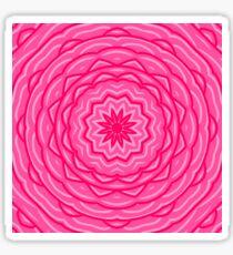 Pegatina Antecedentes de la flor rosa.