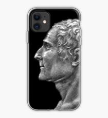 Enlightenment influencer Jean-Jacques Rousseau, portrait iPhone Case