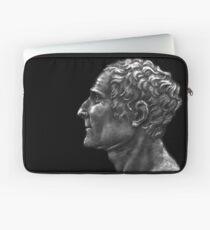Enlightenment influencer Jean-Jacques Rousseau, portrait Laptop Sleeve