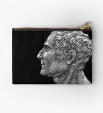 Enlightenment influencer Jean-Jacques Rousseau, portrait Zipper Pouch