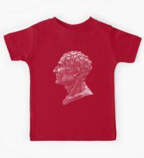 Enlightenment influencer Jean-Jacques Rousseau, portrait Kids T-Shirt