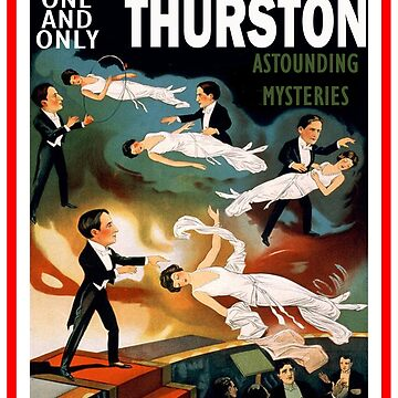The One and Only Thurston Magician Novelty Gifts by chumi