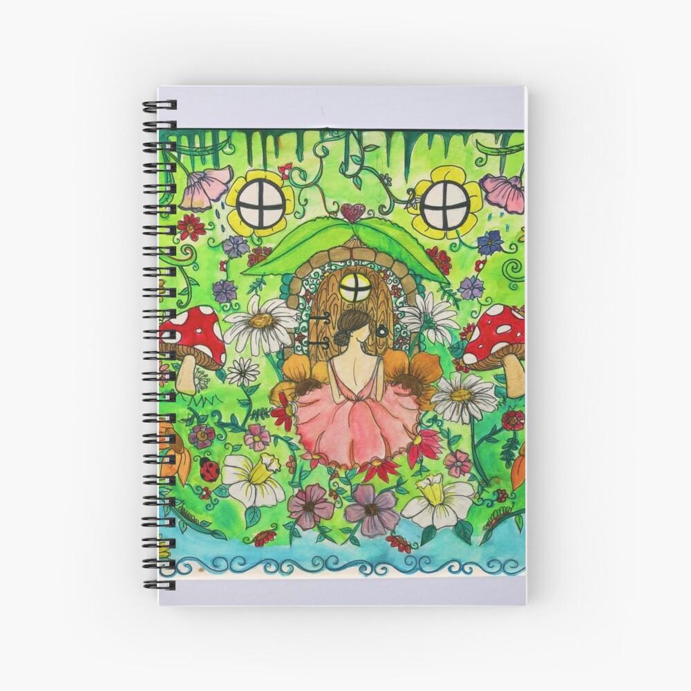 fairy garden Spiral Notebook