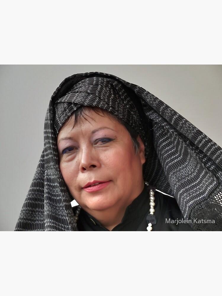 (591) Turban and shawl by marjoleink