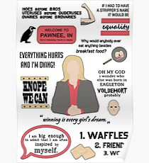 Knope Quotes Poster