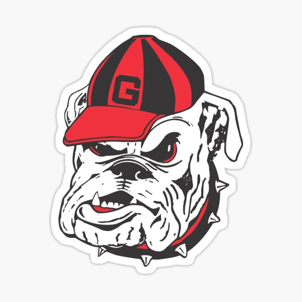 Vintage Bulldog UGA Sticker