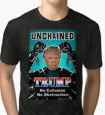 Trump Unchained Tri-blend T-Shirt
