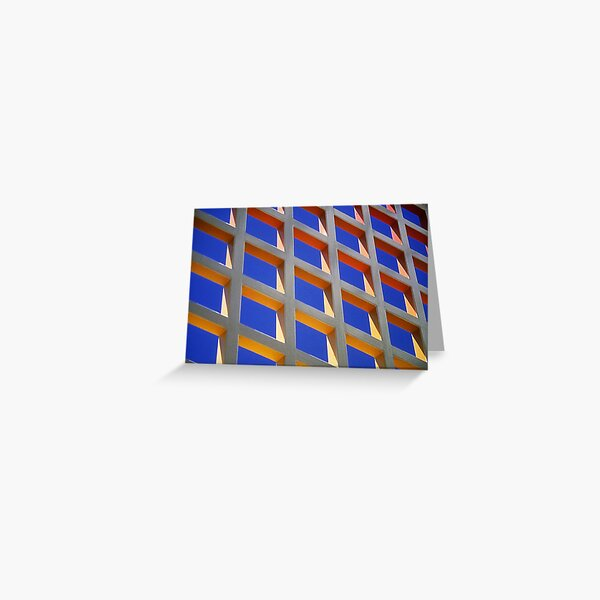 Colourful Wall Greeting Card