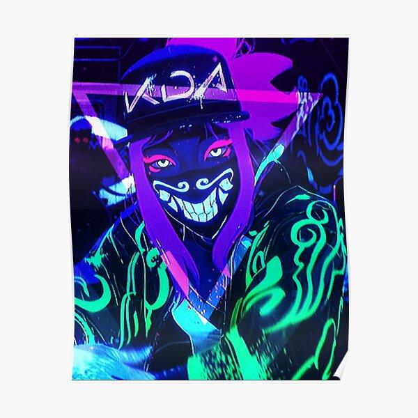 K/DA POP/STARS - Akali Poster