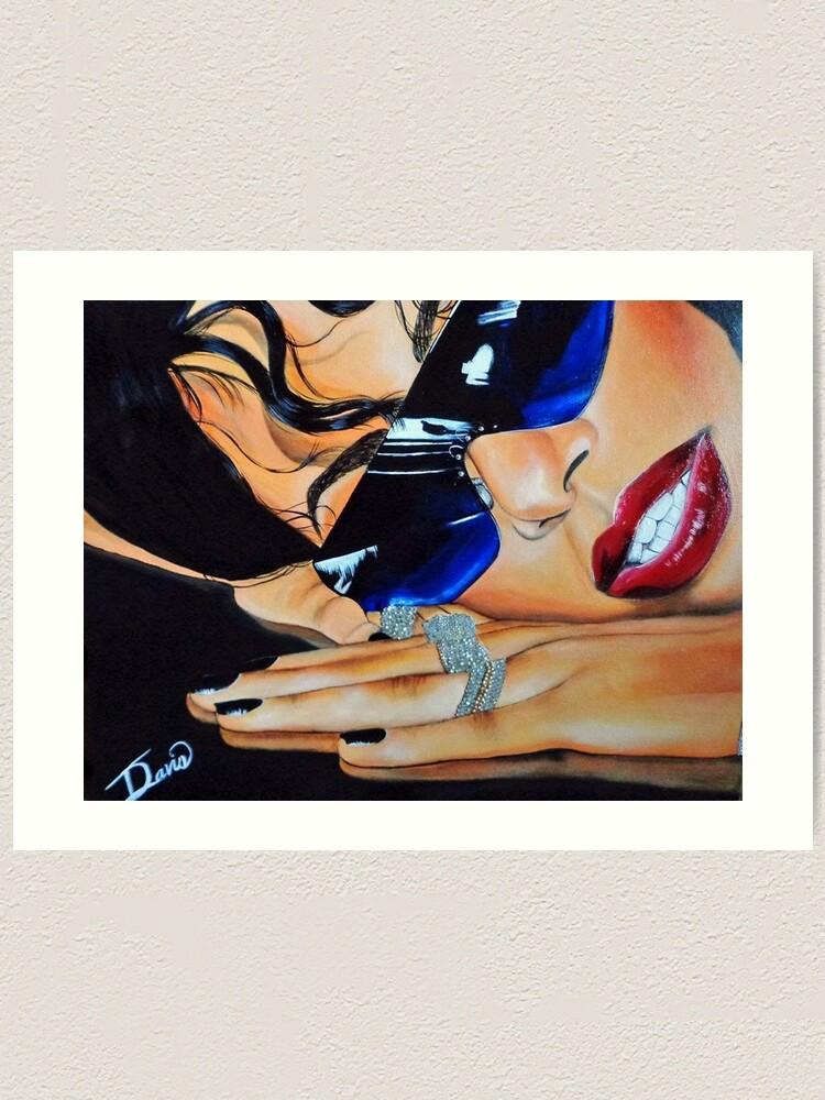 Alternate view of Aaliyah Art Print