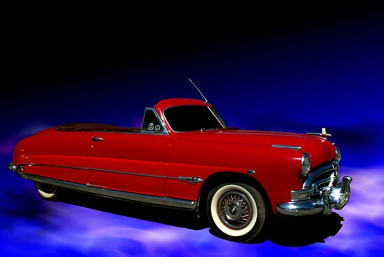1953 Hudson Hornet Convertible Posters By TeeMack