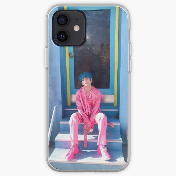 Pink Taehyung ~ iPhone Soft Case