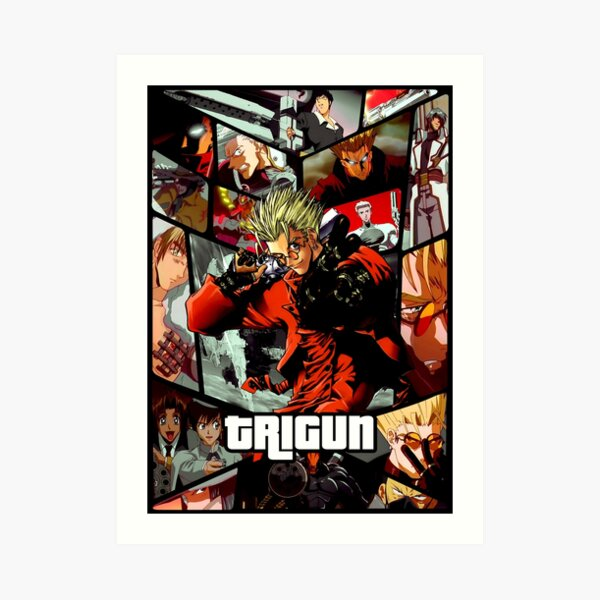 Trigun ultimate anime poster Art Print