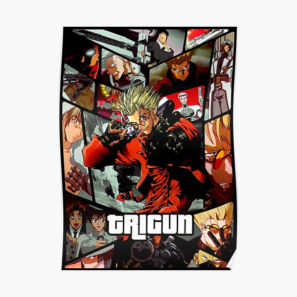 Trigun ultimate anime poster Poster
