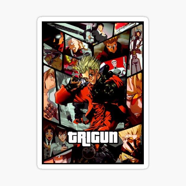 Trigun ultimate anime poster Sticker