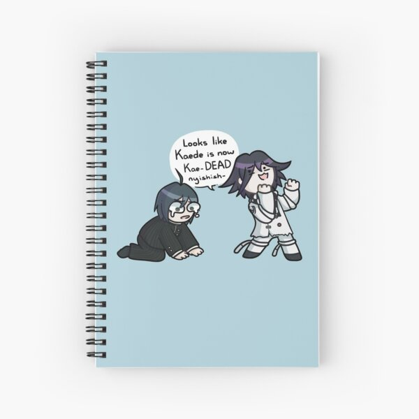 Kokichi and Shuichi Part 1 Spiral Notebook