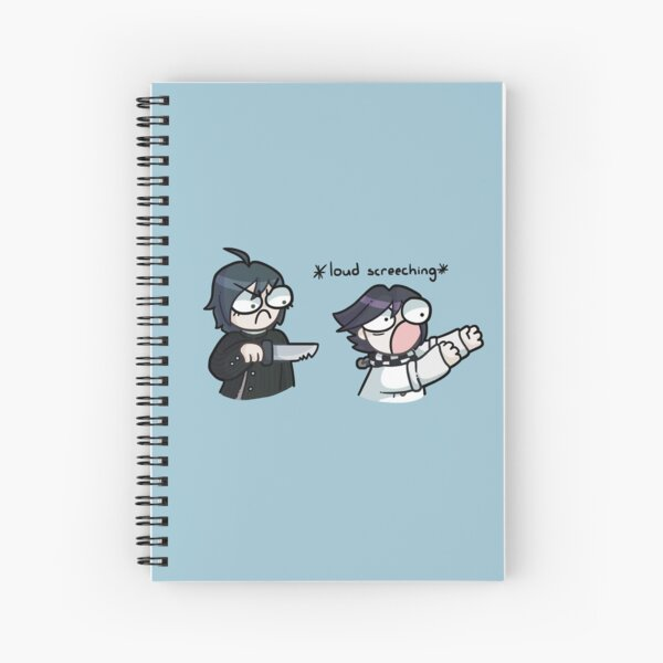Kokichi and Shuichi Part 2 Spiral Notebook