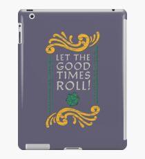 Kopie von Let the Good Times Roll! (Dunkel) iPad-Hülle & Klebefolie