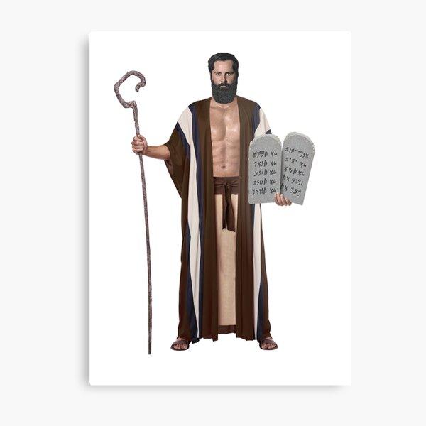 Sexy Moses Metal Print
