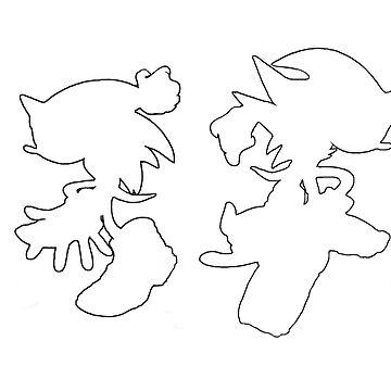 Sonic & Shadow by Appupple
