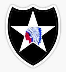 2nd Infantry Division (United States) Sticker