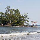 Shrine Island, Noto Peninsula, Japan by johnrf