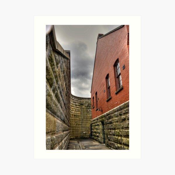 Fortress Passage Art Print