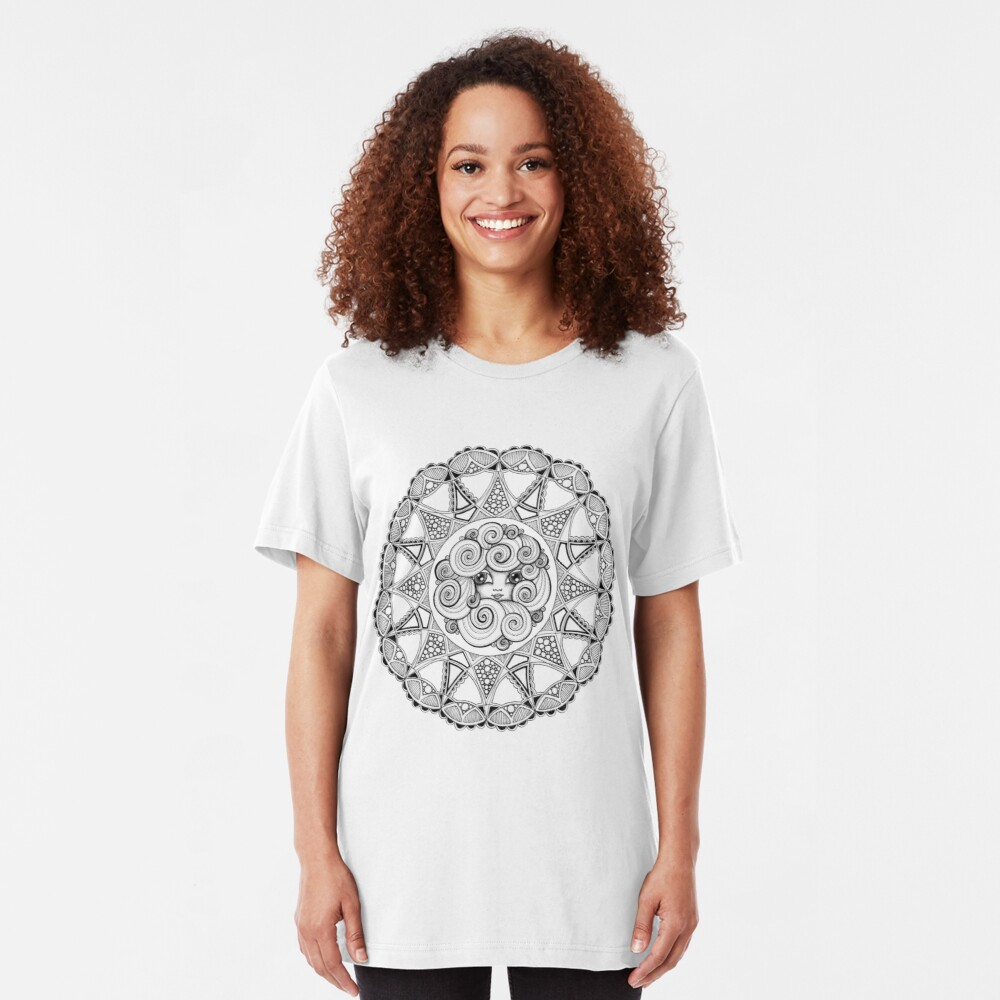 Madame Swirl Slim Fit T-Shirt