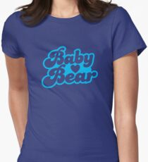 Baby Bear super cute baby design Womens Fitted T-Shirt