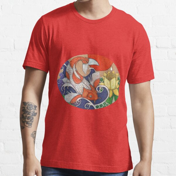 Leaping Koi Essential T-Shirt