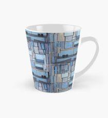 Piet Mondrian - Composition No 9 Blue Facade Tasse (konisch)